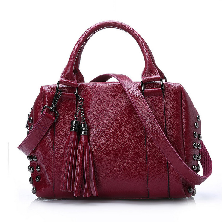 Fashion New Hot Promotion! Special Offer PU Leather women messenger bags/ Women Cowhide Handbag  Shoulder Bags  Stitching color