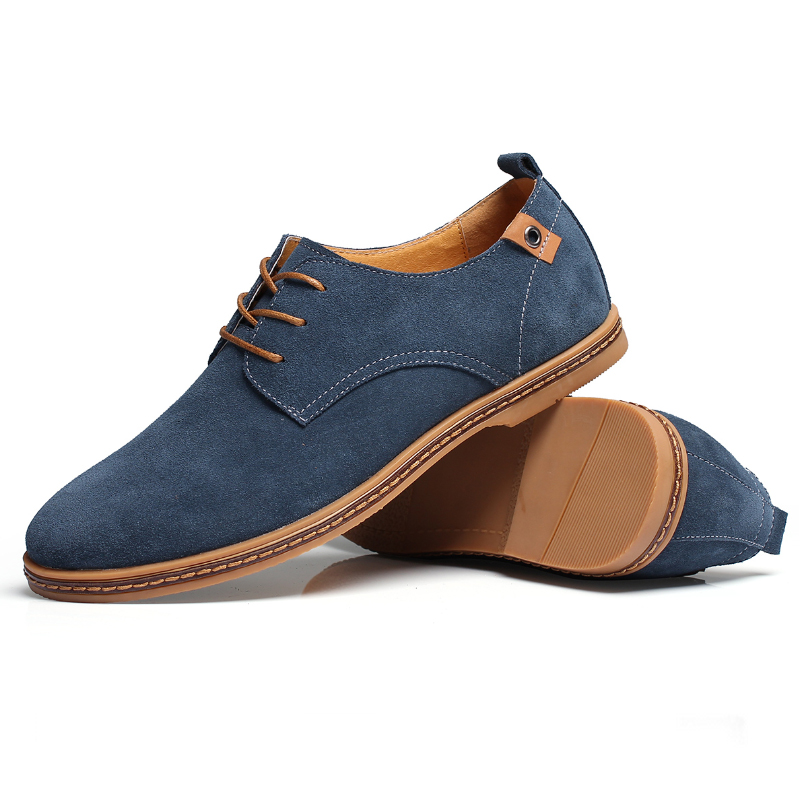 shoes new 2015 genuine leather shoes suede