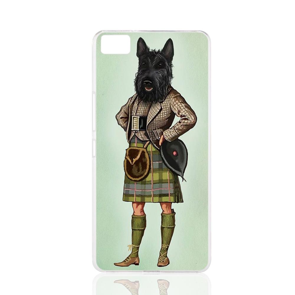 22909 Scottie Dog font b Kilt b font scottish terrier Animal cell phone Cover Case for