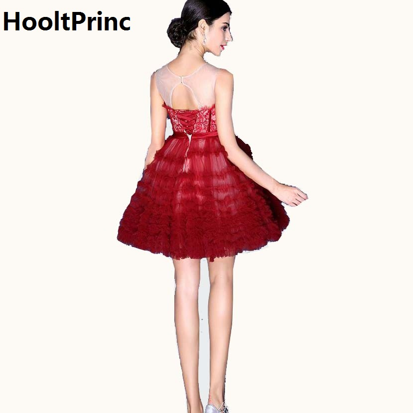 Online Get Cheap Short Puffy Prom Dresses Evening Dresses ...