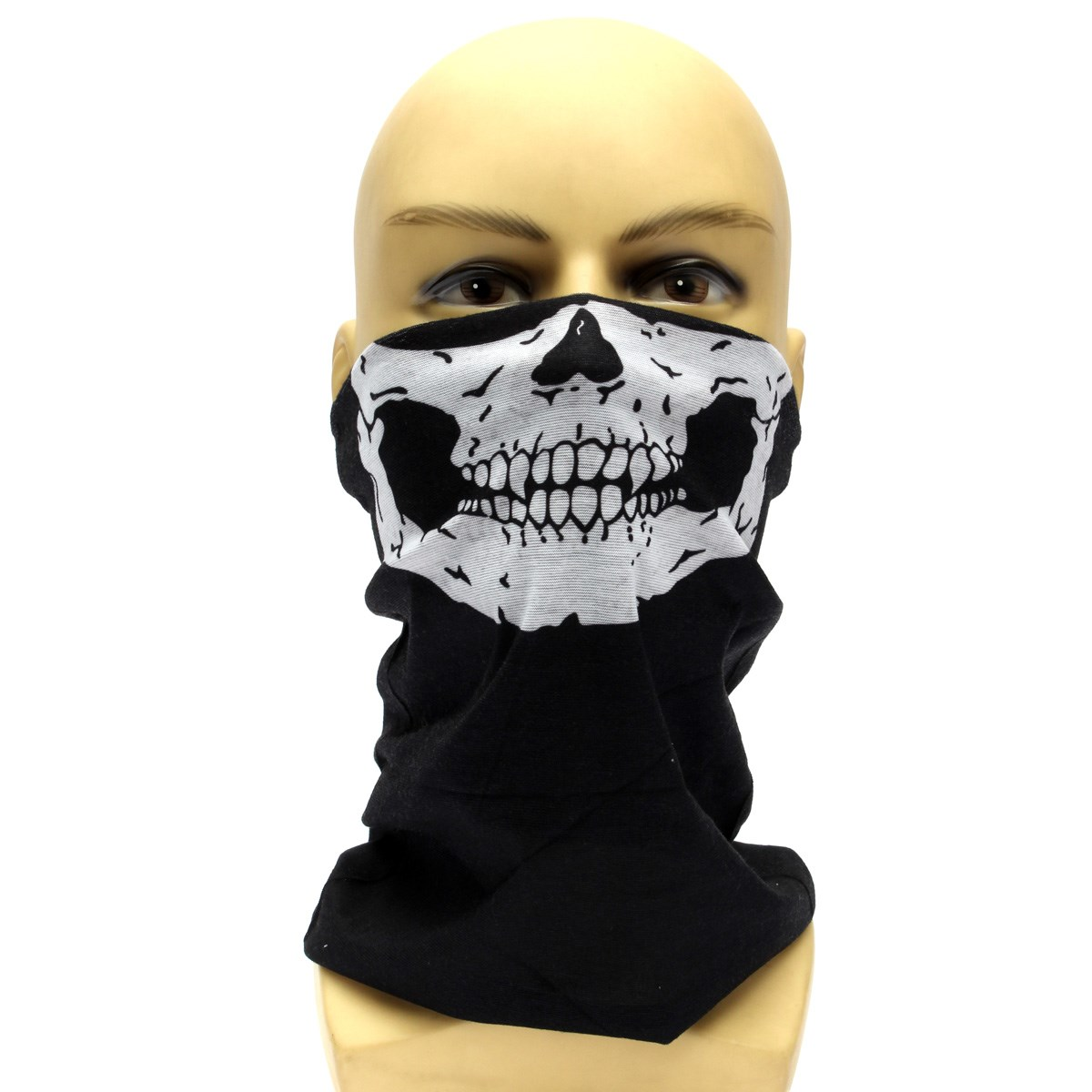 Skeleton Ghost Skull Balaclava Cycling Bike Face Mask Biker Masquerade Halloween Skiing Mask(China (Mainland))