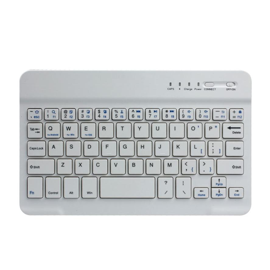 Best Price Universal Ultra Slim White Logitech Wireless Keyboard Game Keyboard for PC(China (Mainland))