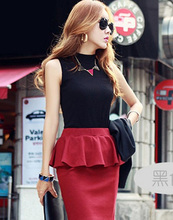 women autumn winter sleeveless solid color Tops & Tees cotton Tanks tops & Camis women lady Vest 10 colors(China (Mainland))