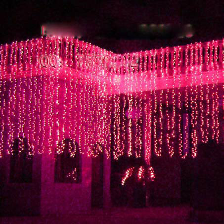 6m*3m Curtain LED String Icicle Lights Christmas Decoration home ,Garden, Party ,Festival ,Wedding,Christams - Ashia Light store