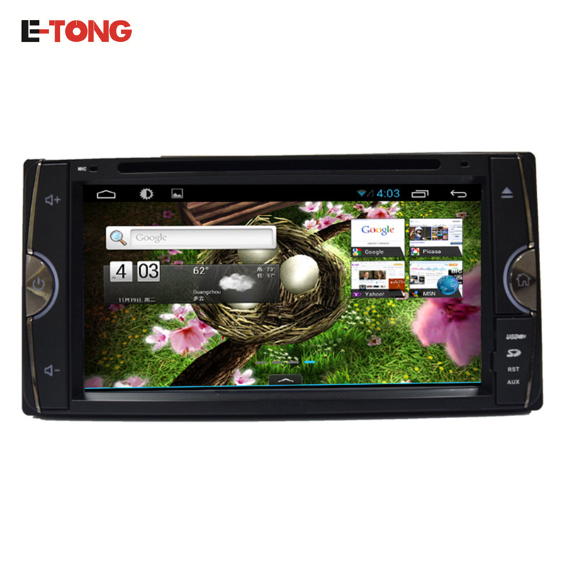 6.95 Inch Screen 2 Din Android 4.4 Car DVD Video Audio player for Toyota RAV4/HILUX/YARIS/Vios/Tundra/FJ CRUISER/Terios 2006-202(China (Mainland))