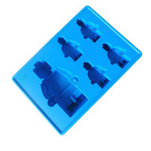 Lego Silicone Ice Cube Mold Cake Cookie Chocolate Cooking Baking Pastry Tool Kitchen Gadget Accessories Supplies(China (Mainland))
