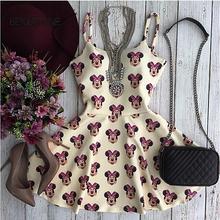 2015 New Arrive Vestidos Women Summer Dress Fashion Casual Print Dress Vestido de festa (China (Mainland))