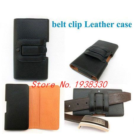 Black Leather Holster Belt Clip Case for Sony M35H Used in mountain climbing&bicycle riding&outdoor activities +Best quality(China (Mainland))