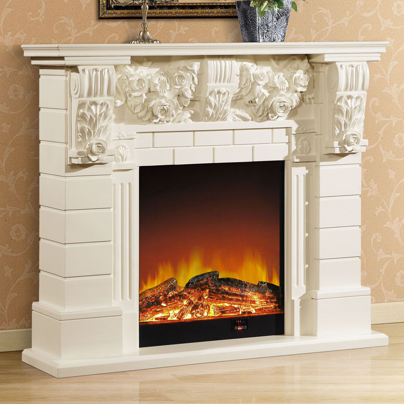 1 3 M High End European Style Fireplace Wood Carving