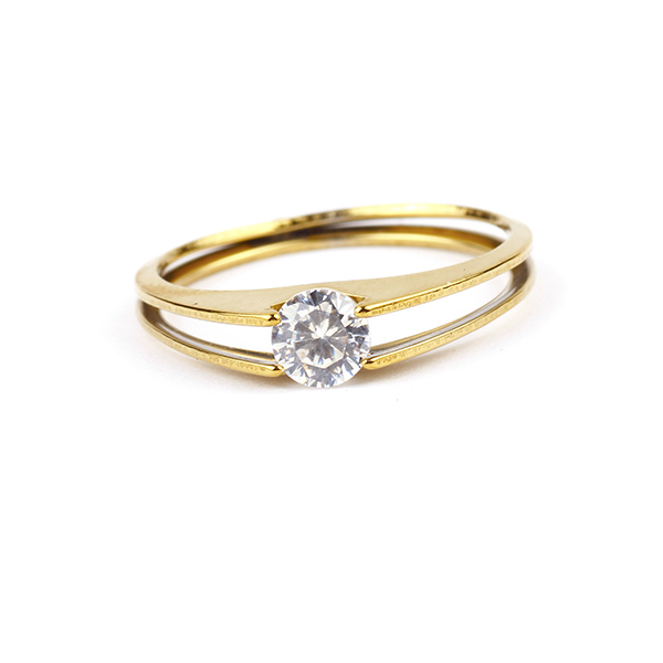 R044 Wholesale New Jewelry Silver Plated Wedding Cubic Zircon CZ Ring High Quality!!637(China (Mainland))
