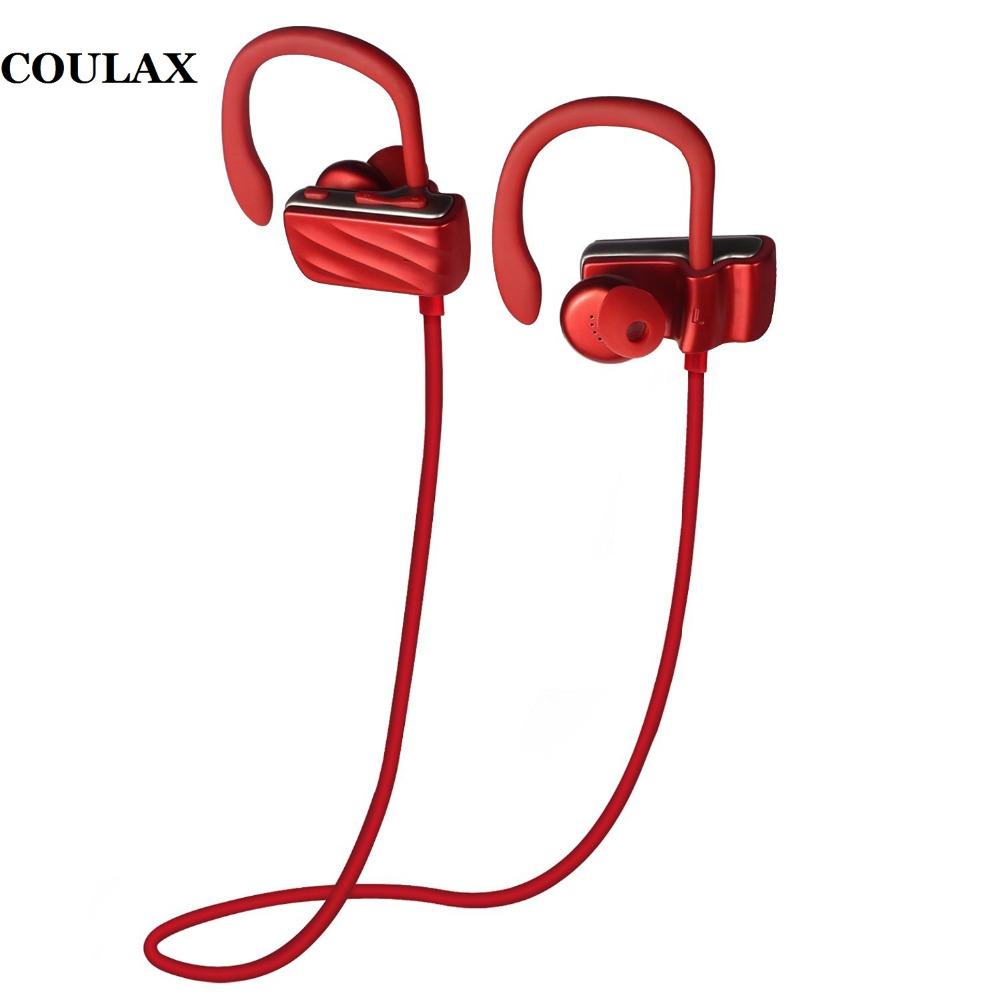 Bluetooth Headset Headphones Sport Sweatproof 4.1 Bluetooth Earphone Wireless Earphone with Microphone for IPhone Android Phone(China (Mainland))