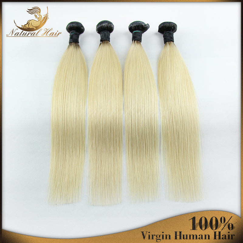 Brazilian Hair Extensions Ombre Two Tone Color Hair Wavy Straight Unprocessed Virgin Human Hair Bundles Dyeable Free Shipping<br><br>Aliexpress