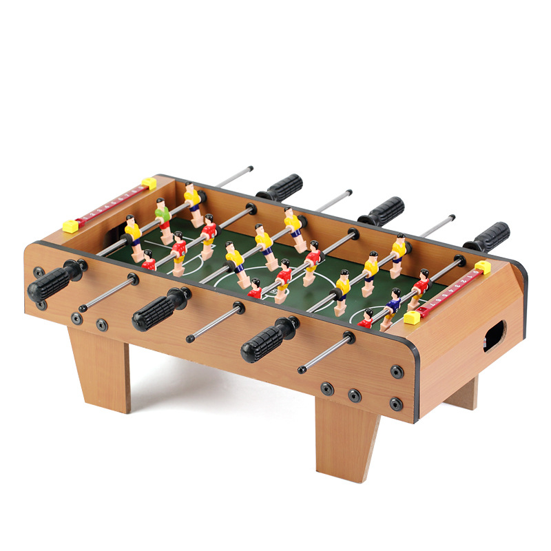 Foosball soccer tables kid's toys six football game table toys children's board for recreation equipment(China (Mainland))