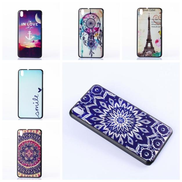 HTC Desire 816 Luxury Promotional Print Colored Drawing Hard Back Shell Phone Cases Cover - Bella Digital Accessories store