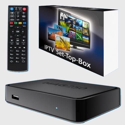 HD Mag 250 Linux Iptv Set Top Box Mag 250 Box Multimedia Player Internet TV Box Iptv(China (Mainland))