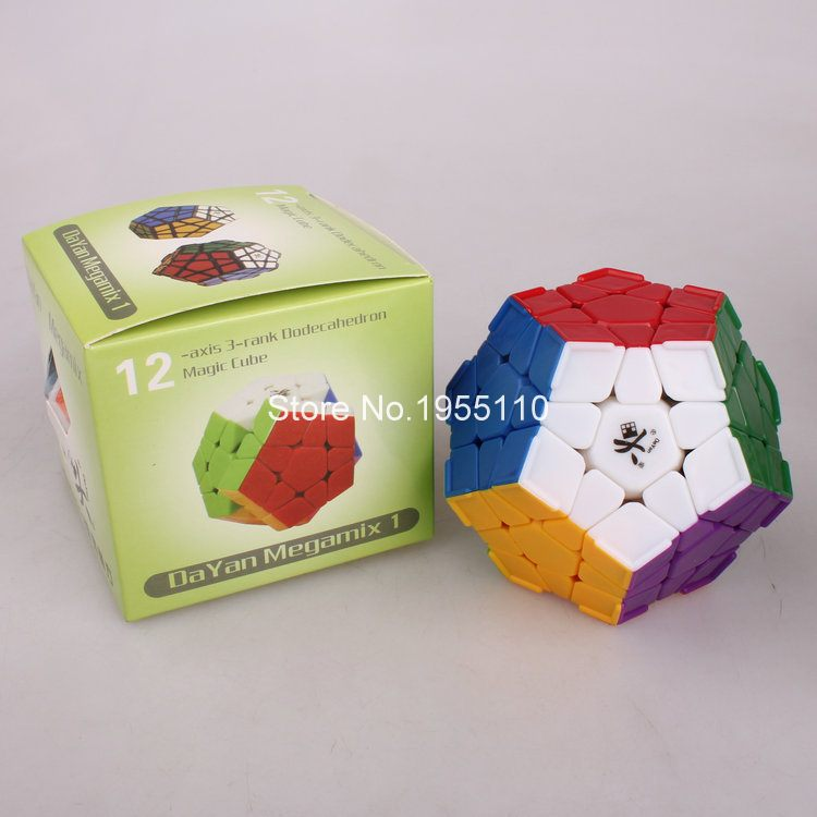 Dayan Megaminx Magic Cube Speed Cube Puzzle Puzzle Educational Toy