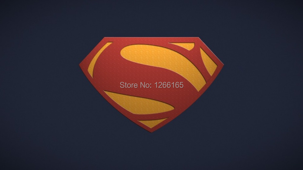 Cool Superman Logo 2014 Movie Poster wallpaper print on silk wall art Home Decoration 12x18 24x36 inch