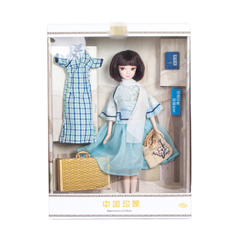 2016 New Arrival Classic The Republic of China Girls Doll Toys for Children's Birthday Gift,28 CM Kurhn Doll Collectible Toy(China (Mainland))