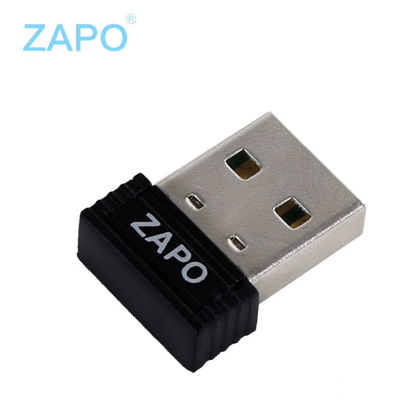 ZAPO 150Mbps wireless network card High speed wifi adapter Mini usb wi-fi receiver 802.11n/g/b wi fi ethernet dongle Adaptador(China (Mainland))