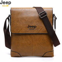 Buy JEEP BULUO Brand Men Leather Bags Casual Business Tote Bag Male Fashion High Hobos Office Man's Shoulder Bag 1302 for $15.90 in AliExpress store