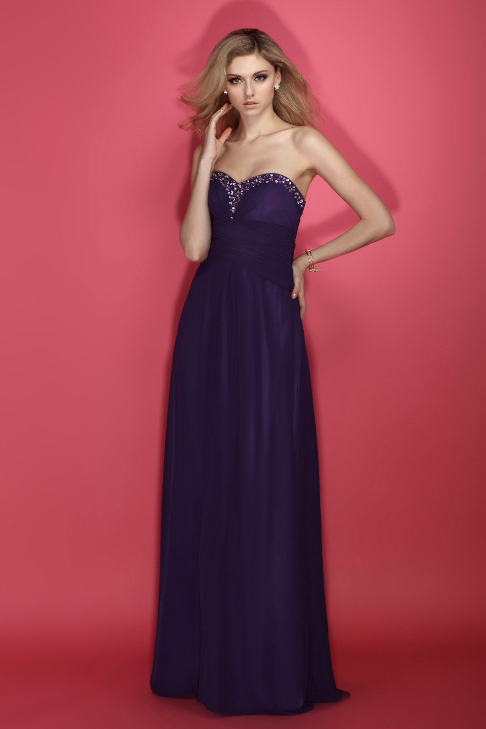 Hot selling summer style evening dress floor length for Sell wedding dress san diego