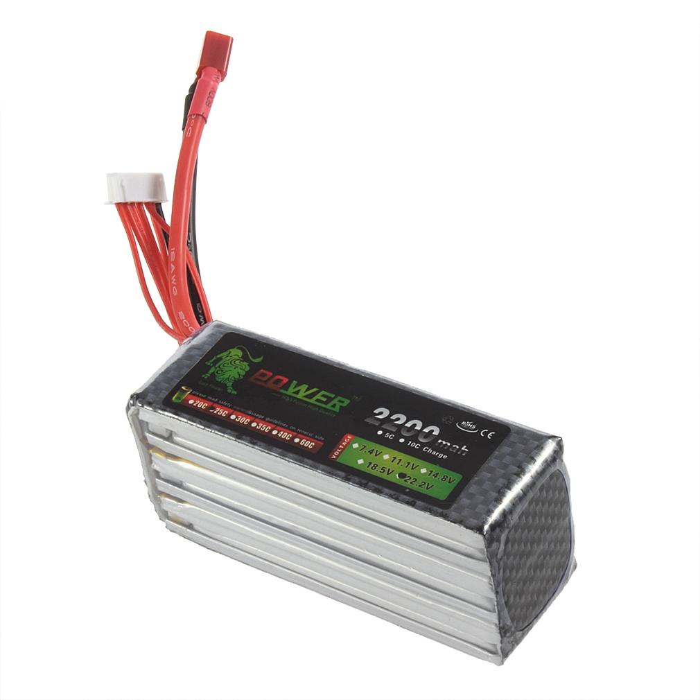 Lion Power Lipo Battery 22.2V 2200Mah 25C MAX 40C RC Helicopter Car Airplane Helicopters Car Airplanes Batterys<br><br>Aliexpress