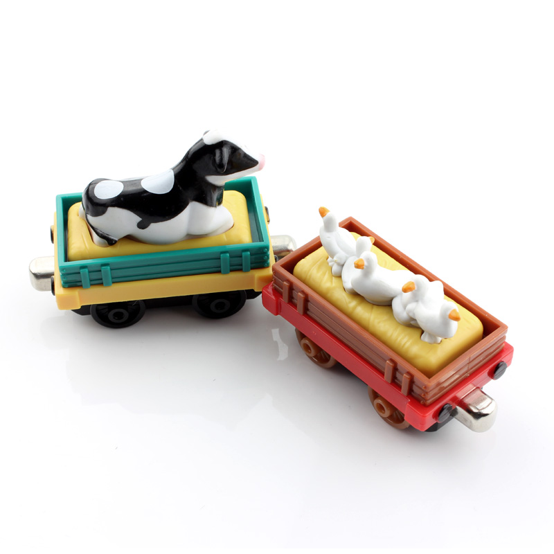 Kid's aminal tender Thomas and friends trains the tanks engine thomas trains railway gifts tomas cars truck diecast models toy(China (Mainland))