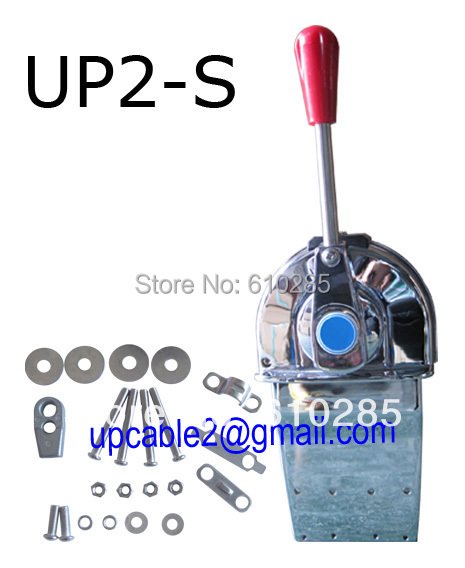 Marine Throttle Lever Control Single : Up s mini marine single lever throttle control boat