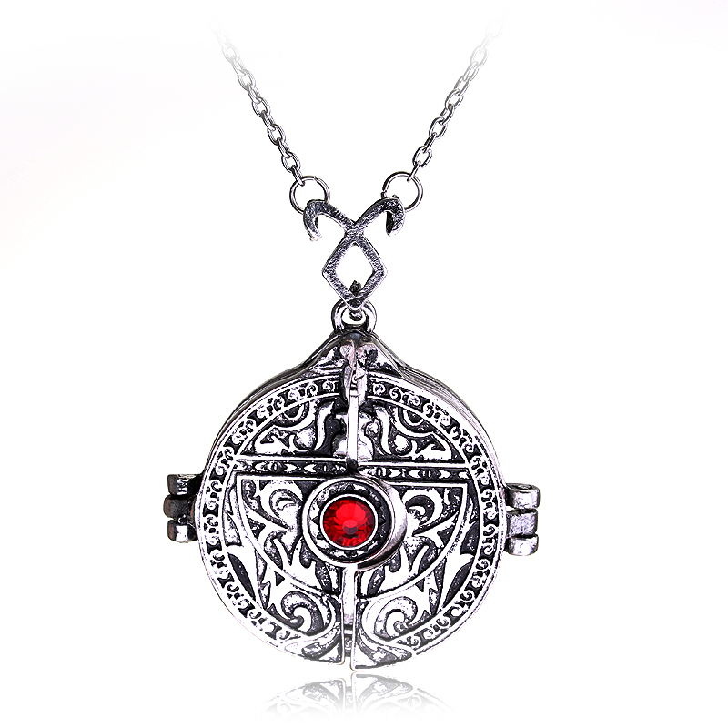 Free Shipping The Mortal Instruments City of Bones Necklace Angel's Cup Hinged Door Mortal Cup Necklace Wholesale Jewelry(China (Mainland))