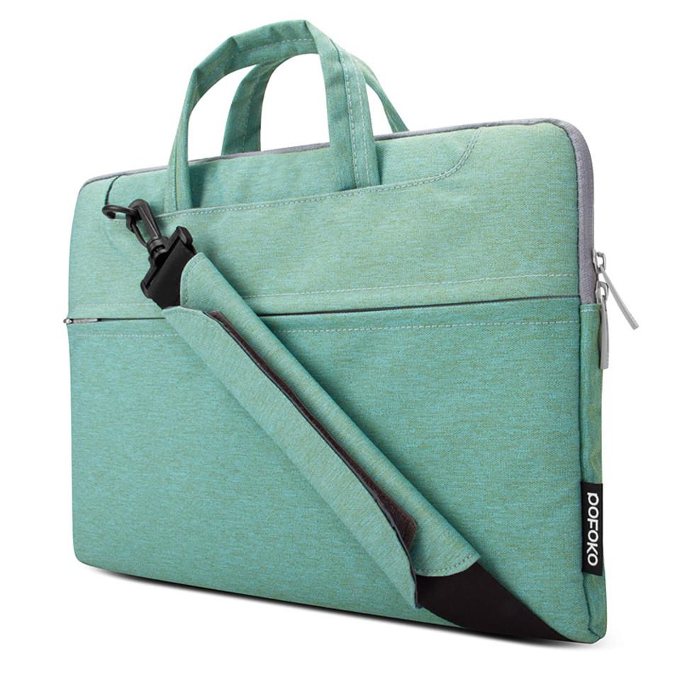 POFOKO 11.6 13.3 15.4 inch Men Women Notebook Computer Laptop Sleeve Bag Case for Apple Macbook Air Pro Retina 11 12 13 15(China (Mainland))