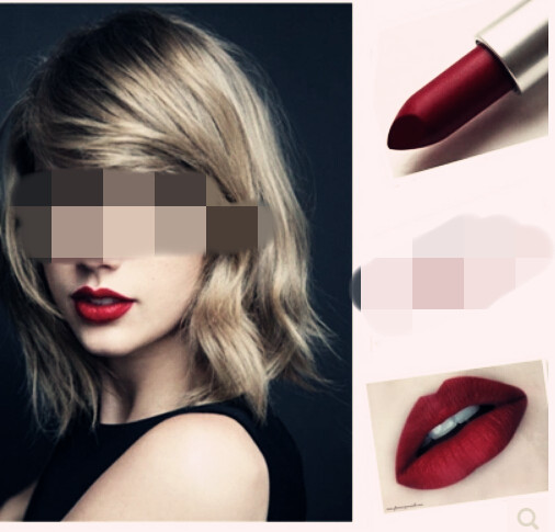 Hot sell famous brand matte lipsticks mc lipstick professional makeup waterproof lip stick cosmetic Deep red lipstick Temptation(China (Mainland))