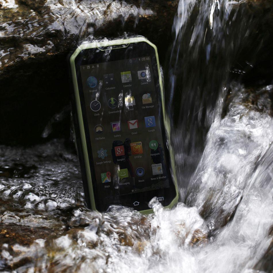 Original S6 Plus Smartphone IP68 Waterproof Dustproof Shockproof rugged phone walkie-talkie MTK6582 Quad-Core 5.0 inchGPS 3G