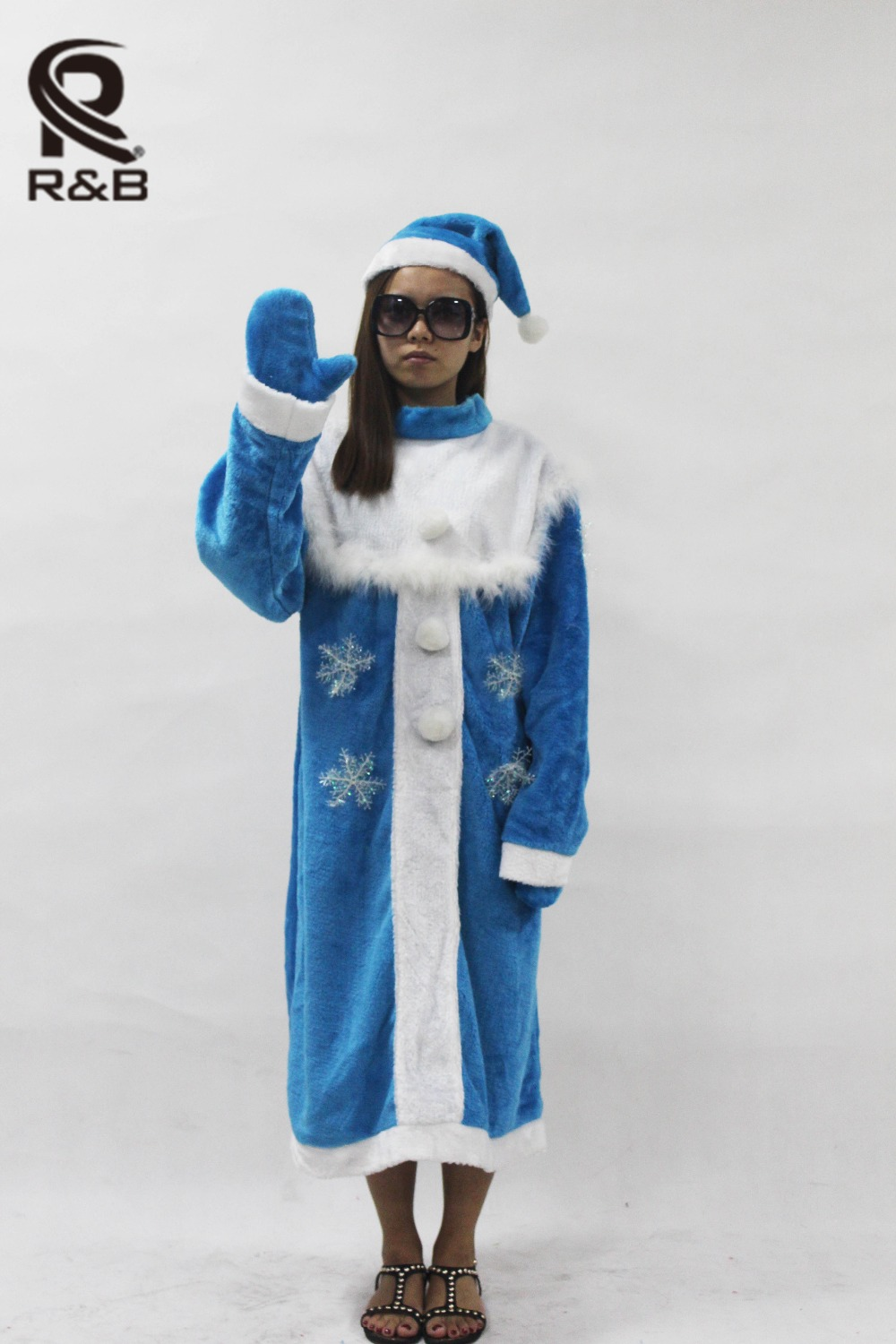 Hot Sale Women Christmas Santa Claus Costume Funny Dress Suit Cosplay Dress Xmas Costume For Adult(China (Mainland))