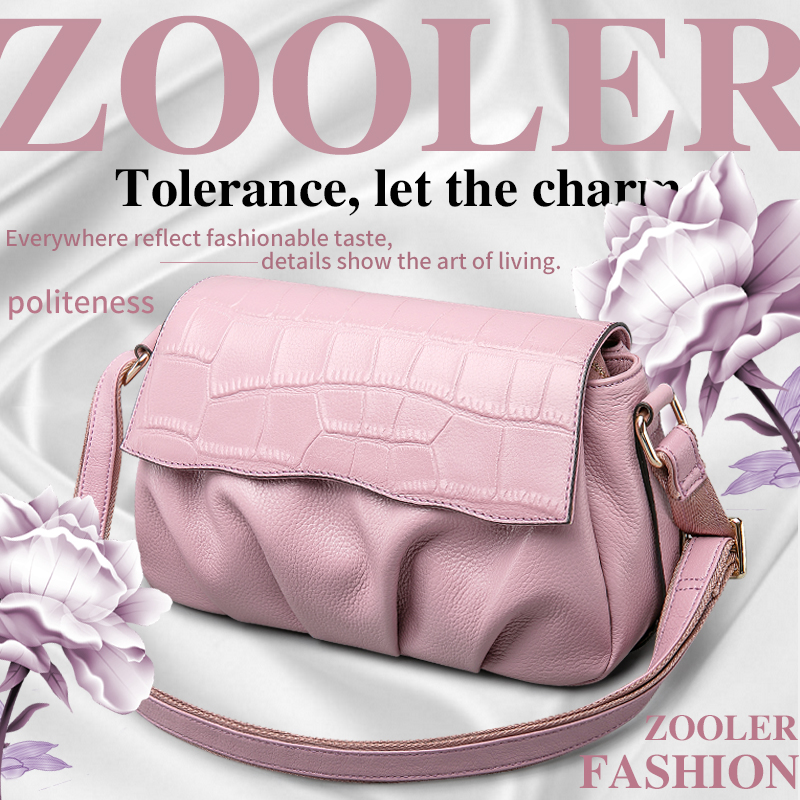 ZOOLER genuine leather bag cross body 2016 new women messenger bags Small special offer shoulder bags famous brand free shipping(China (Mainland))