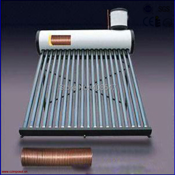 200L integrated copper coil solar water heater