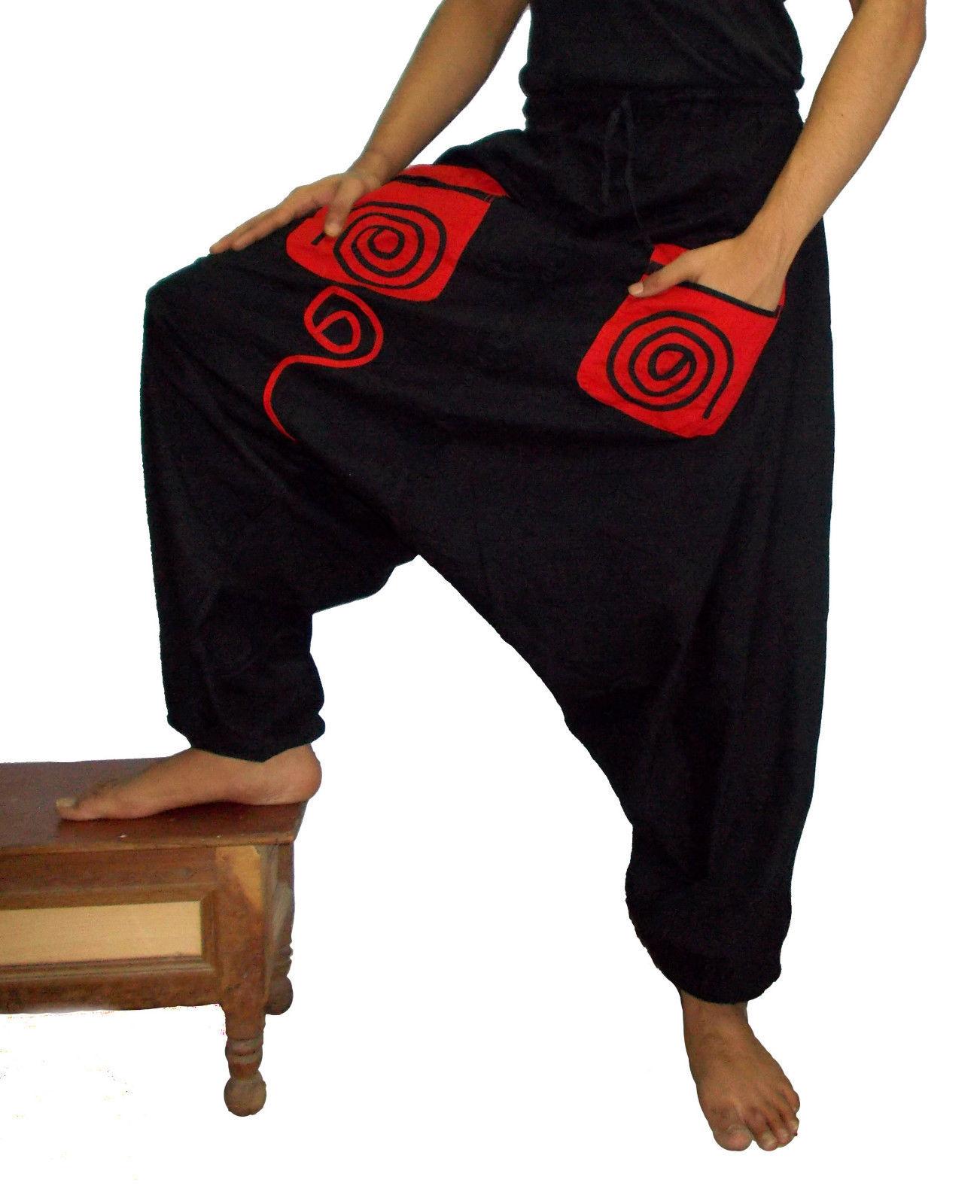 Vego 2015 New Men Women Harem Pants Yoga Casual Trousers Afghani Baggy Genie Hippie Aladdin(China (Mainland))