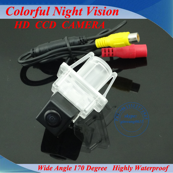 CCD Car Reverse Camera for Mercedes -Benz C E S CLASS CL CLASS W204 W212 W216 W221 Parking Camera Night Vision Free Shipping(China (Mainland))