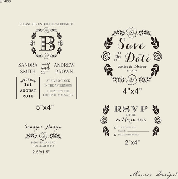 Rsvp dating stamps