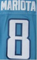 Mens' 8 Marcus Mariota shirts jersey 29 DeMarco Murray navy blue light blue white elite jersey,(China (Mainland))
