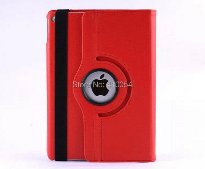 DHL FreeShipping 100pc/lot PU Leather 360 Degree Rotating Case Stand Cover For ipad air 2 For ipad 6 <br><br>Aliexpress