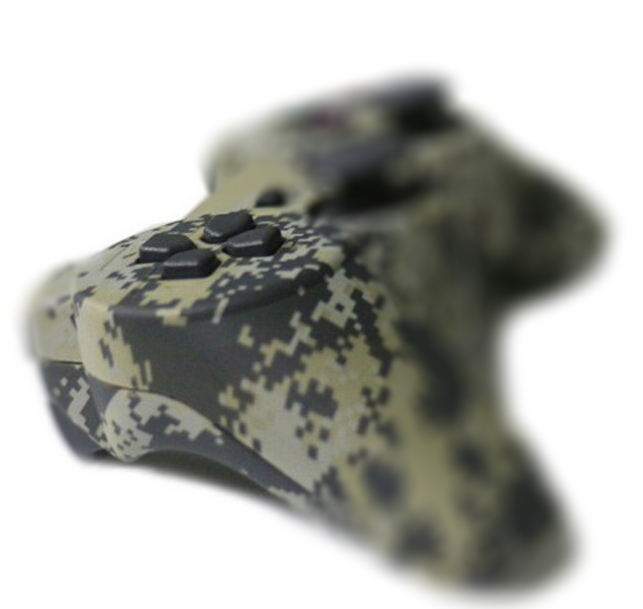 Original Wireless Bluetooth Joystick For sony Ps 3 Matte Unique Camouflage Dual Vibration Shock 6 Axis Controller for Sony PS3(China (Mainland))