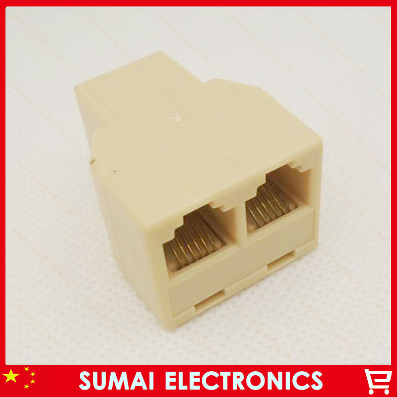 FREE SHIP!.High quality! 200pcs/lot RJ11 Connector One point two RJ11 Telephone Modular RJ11 Interface<br><br>Aliexpress