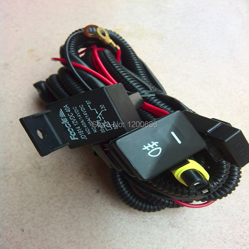 Auto light wire harness with switch for Toyota Corolla 2005(China (Mainland))