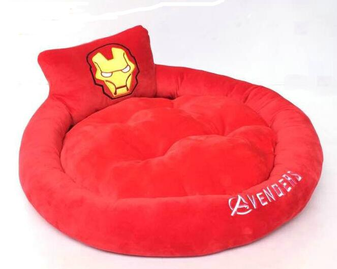 Iron man autumn and winter unpick and wash teddy bear pet nest small dogs dog bed cat litter pet dog supplies(China (Mainland))