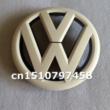 Car styling gross black red white silver orange Volkswagen Golf 6 logo Front Grille Emblem Badge