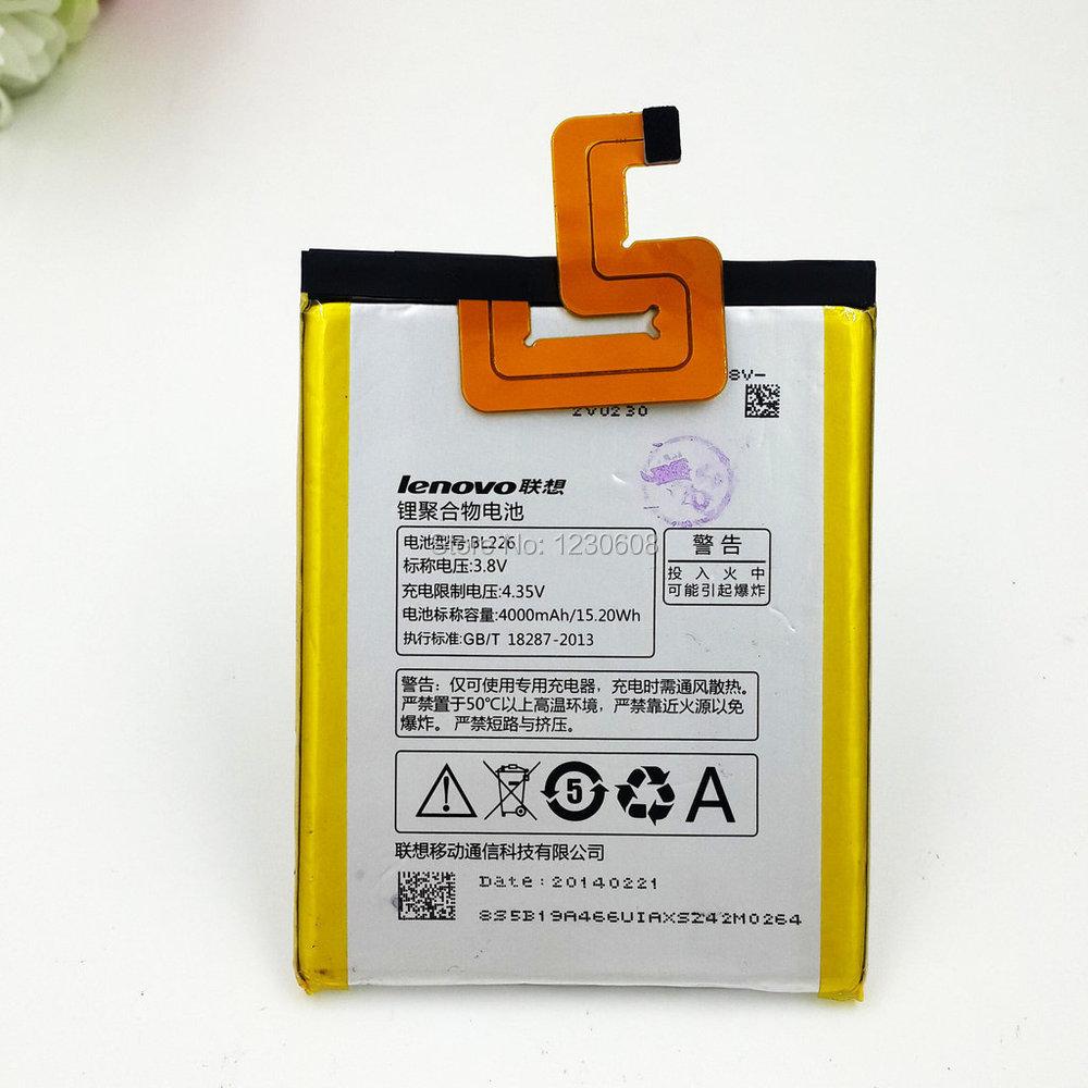 100% original for lenovo bl226 BL226 S860 4000mah battery free shipping