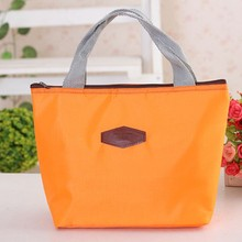 Fashion Thermal Cooler Insulated Waterproof Lunch Carry Storage Picnic Food Bag(China (Mainland))