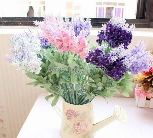 fake silk lavender flower for home living room dining table decoration