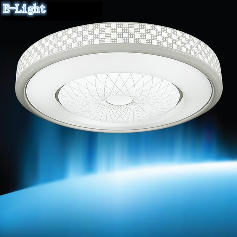 Ronde Plafond Lampe, Plafonniers, en aluminium + Acrylique 12 W SMD LED Panneau Lumineux Du Panneau Chaud ou Blanc Pour Chambre/Salon(China (Mainland))