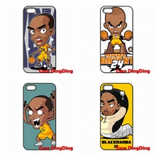 Original NBA star Kobe Bryant Q Comics Edition iPhone 4 4S 5 5C SE 6 6S Plus Apple iPod Touch Moto X1 - Phone Cases Ding store